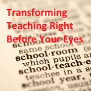 Transforming Teaching graphic